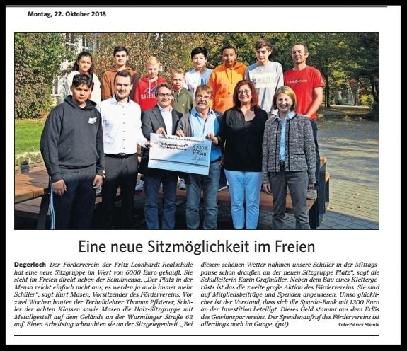 Stuttgarter Zeitung vom 22.10.2018