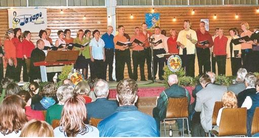 Da Capo Konzert in der Eichkopfhalle in Wernborn 2006