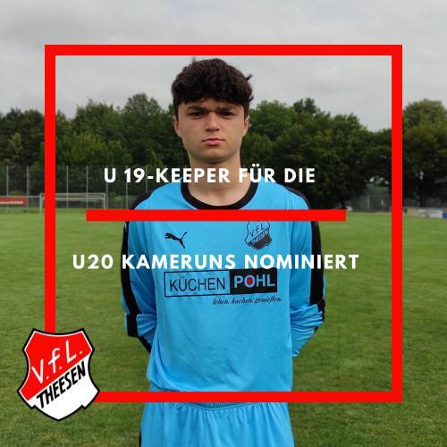 """U 19-Torwart folgt dem Ruf der """"Unbezähmbaren Löwen"""""""