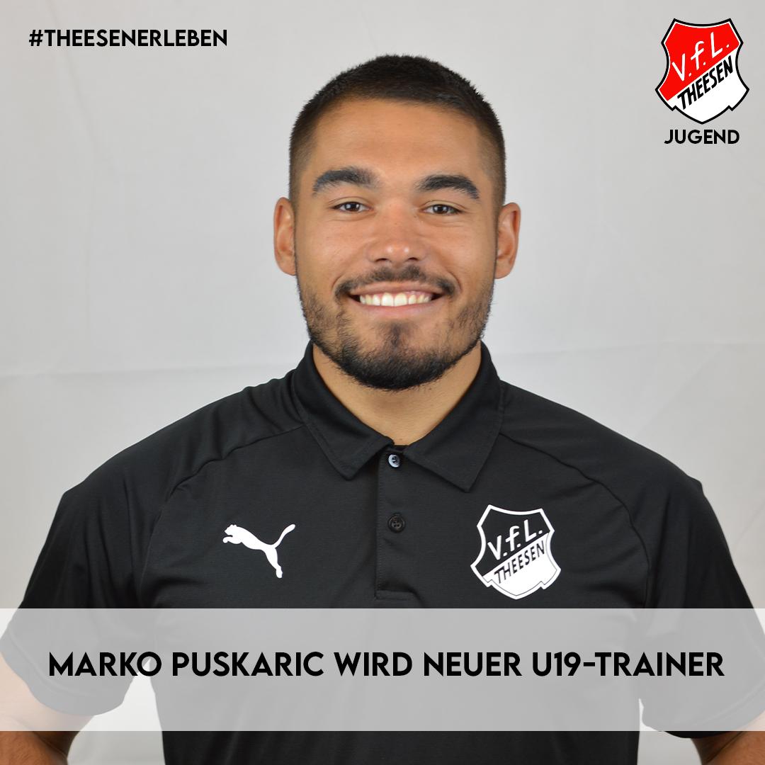 Marko Puskaric übernimmt U19