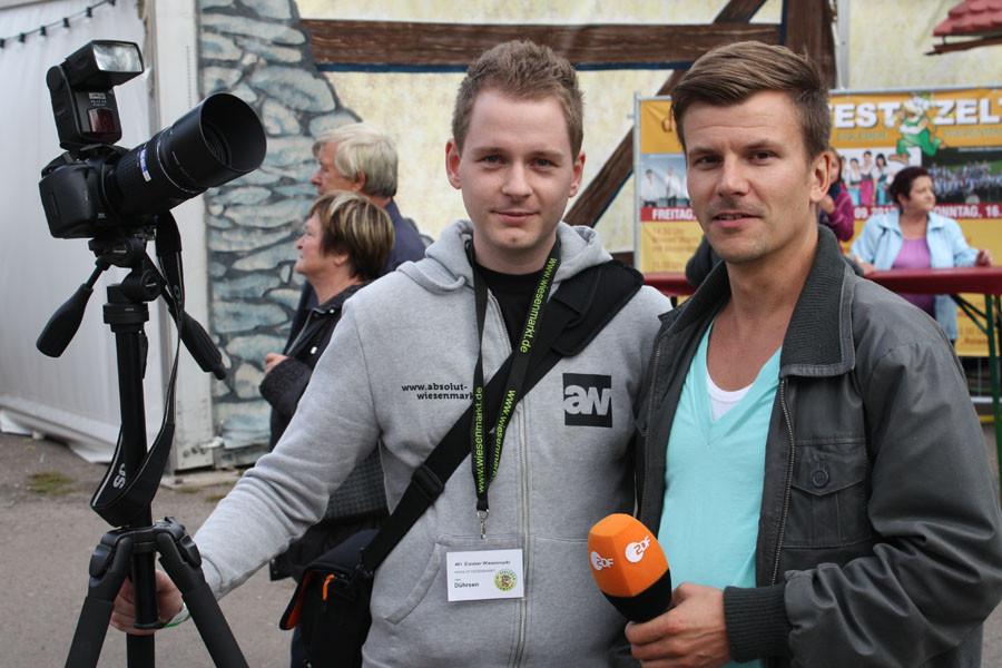 Und weil das ZDF so nett fragte, gaben wir ihnen sogar ein Interview.