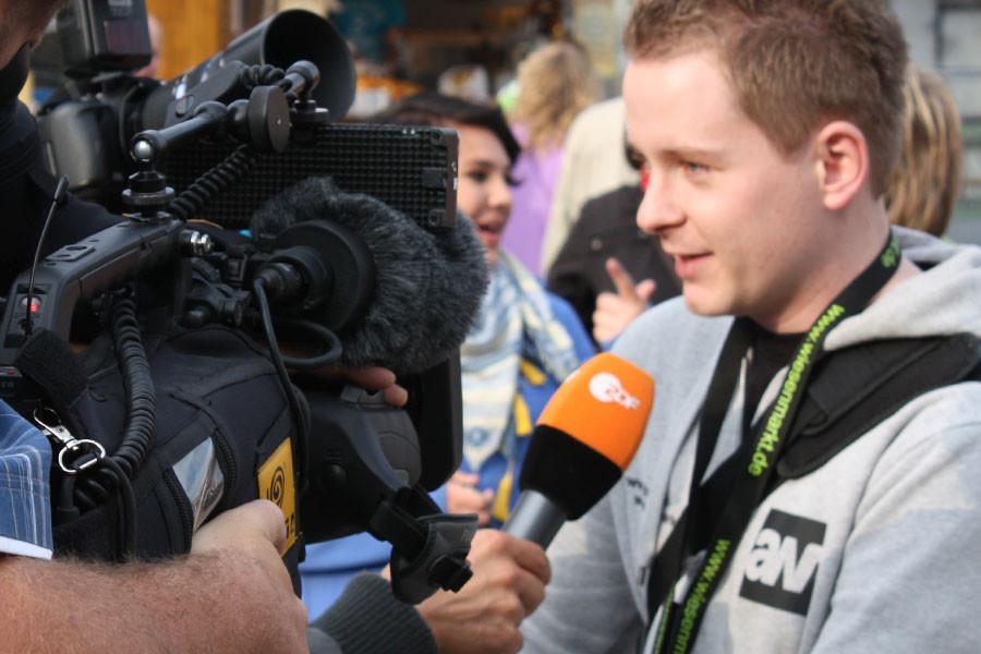 Das Medieninteresse am Eisleber Wiesenmarkt steigt. Im letzten Jahr staunte noch RTL über die sauberen Toiletten auf dem Platz. Dieses Jahr war mal wieder das ZDF dabei.