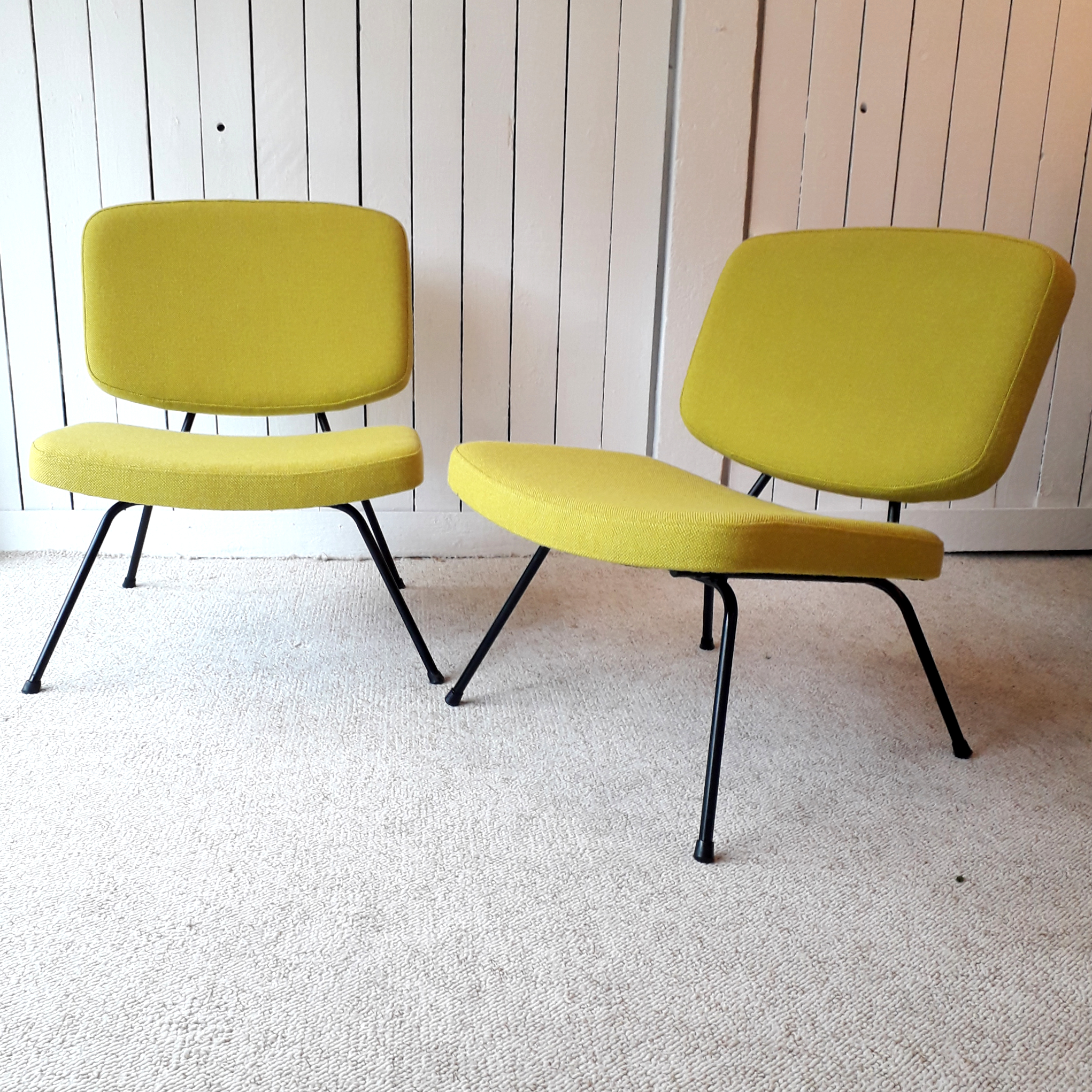 Paire de fauteuils CM190, édition Thonet, 1959