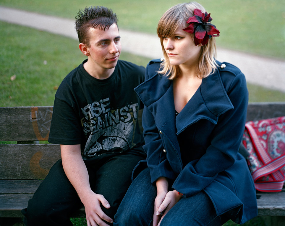 Couple in Etterbeek Campus, October 2011