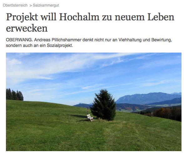 Projekt: Mondseer Hochalm