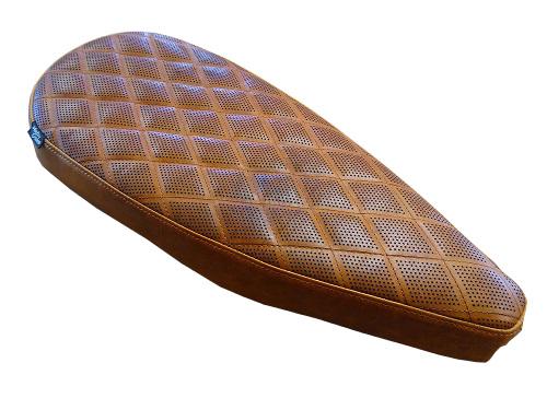 Perforations sur cuir de sellerie en découpe et gravure laser