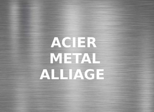gravure laser acier métal alliage