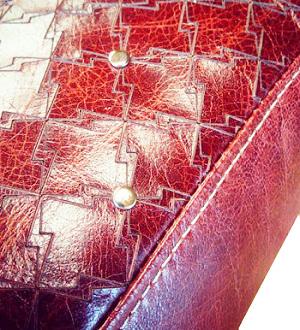 gravure marquage laser vectorielle sur cuir