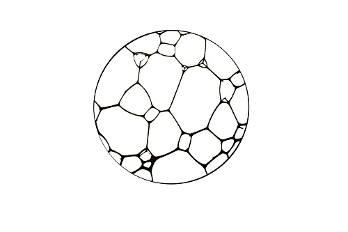 Découpe et gravures laser dessous de verre en Formica . Dim : 8 cm . Disponible à la vente içi .