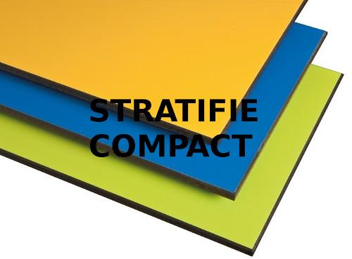 gravure laser stratifié compact