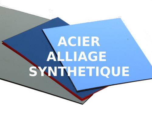 découpe gravure laser acier alliage métal synthétique
