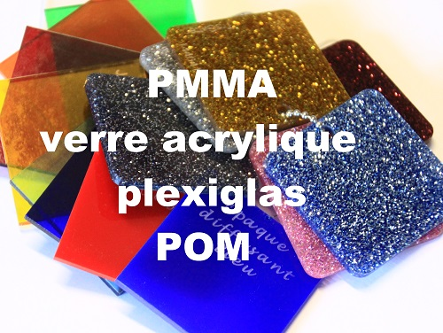 découpe gravure laser plexiglas acrylique pmma pom