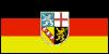 Flagge des Saarlandes