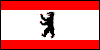 Flagge von Berlin