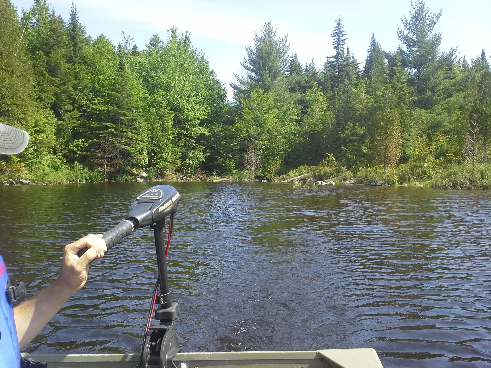 En direction pour une diagnose de lac