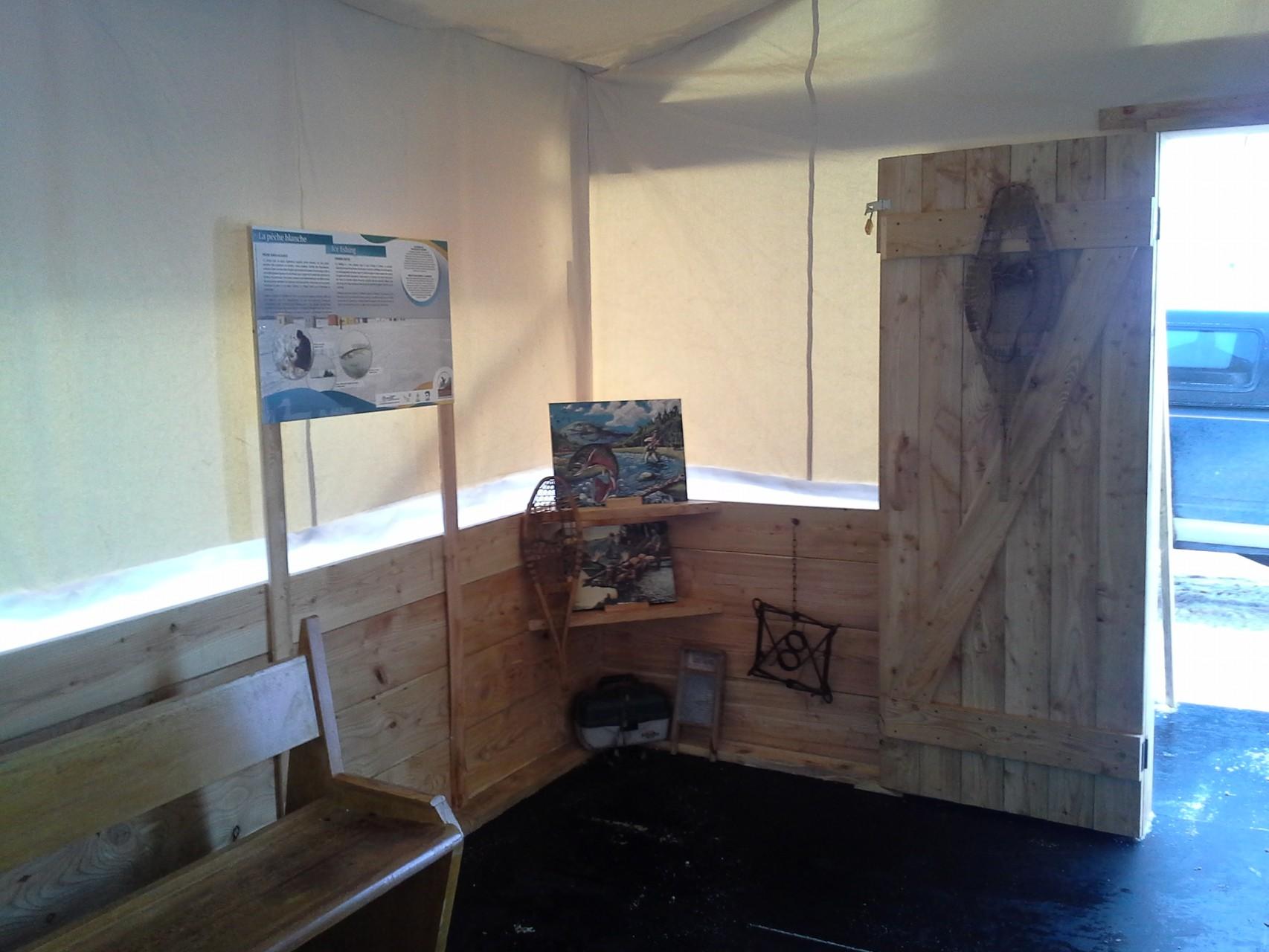 Tente prospector (décoration intérieure - Événementiel)