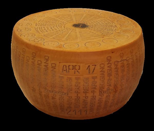 """Parmigiano Reggiano """"nur von brauner Kuh"""" im Alter von 45 Monaten. Angebot mit Geschenk: Kirschbalsamico essig/traditionelle balsamico essig aus modena 12 jahr"""