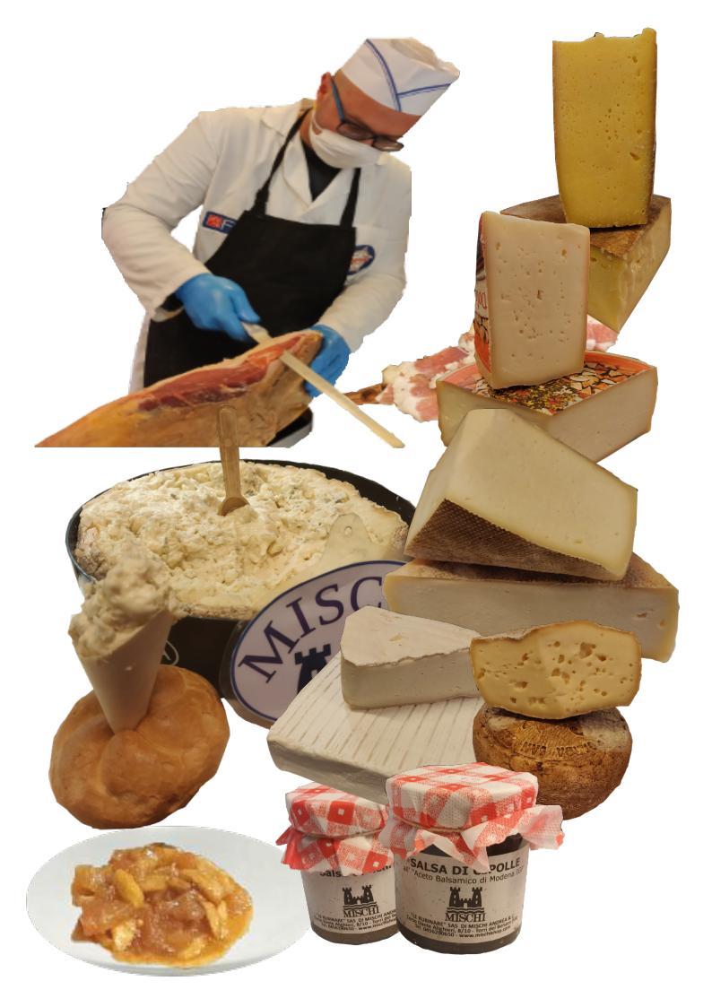 Tortellini Valeggio, Büffelkäse, Gorgonzola am löffel und viele andere Dinge, die per Expresskurier verschickt werden (24 Stunden zu Ihnen nach Hause)