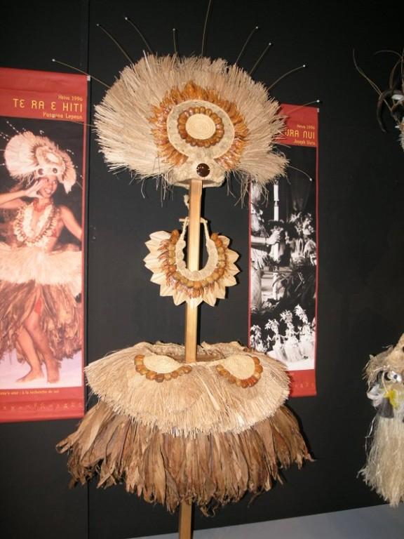 Vestidos de danza en el Museo de tahiti