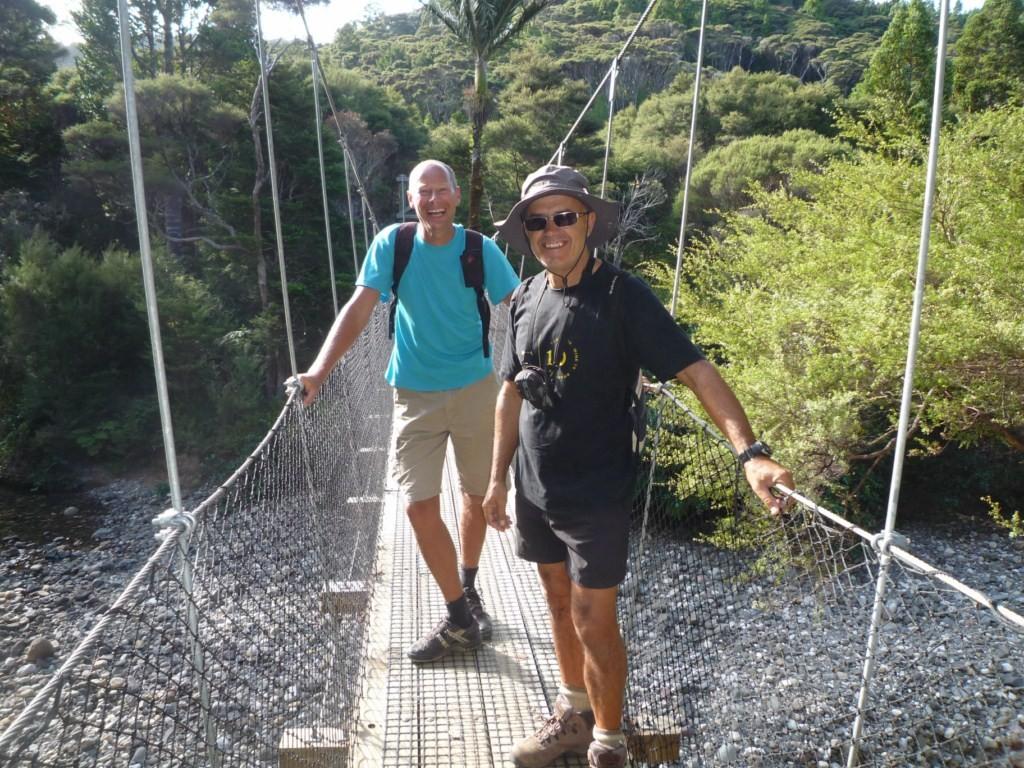 Con Andy en Kaiaraara trek