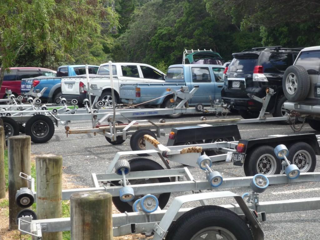 Remolques por todas partes, en Nueva Zelanda hay casi más barcos que habitantes