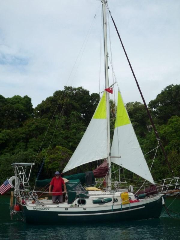 Algunos barcos prueban las velas de mal tiempo para la travesía a Nueva Zelanda