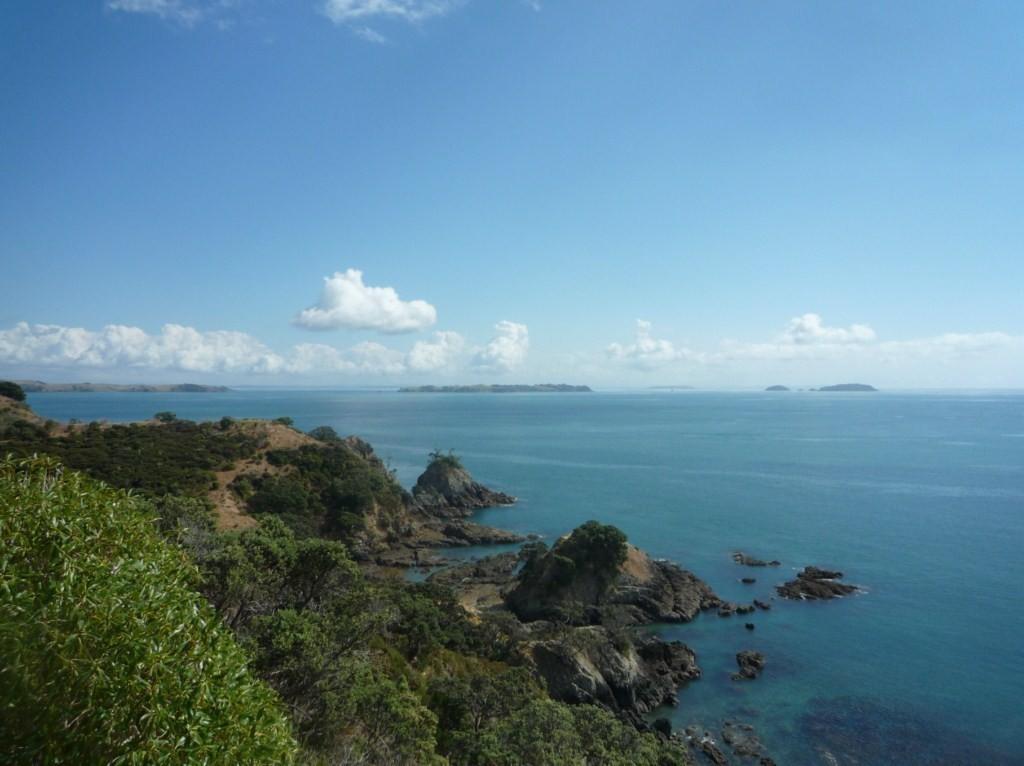 Trekking a Island Bay