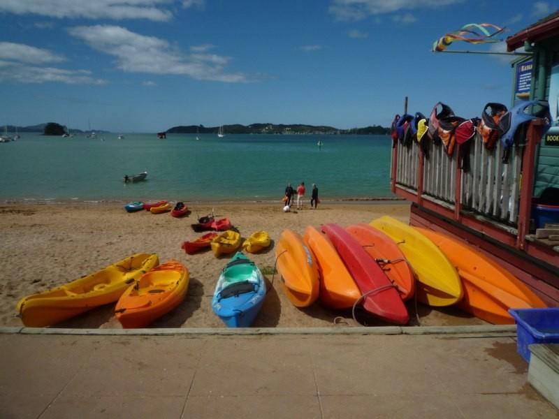Alquiler de kayaks en Paihia