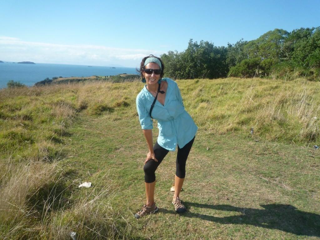 Trekking de Owhanake a Matiatia Bay