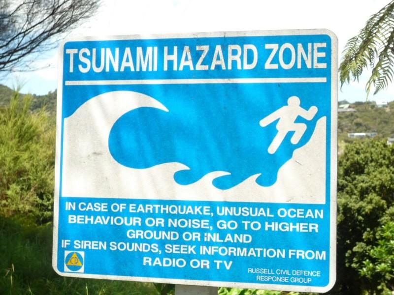 Tsunamis en la zona... bufff