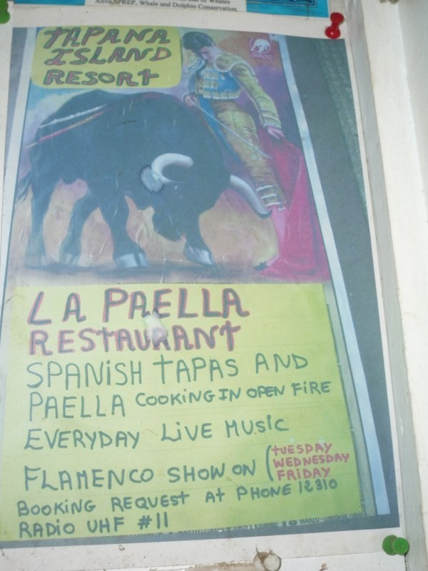 Afiche de la Paella