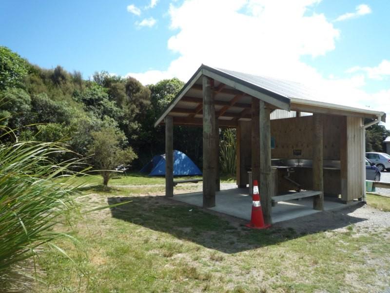 Instalaciones del camping Manganuhia