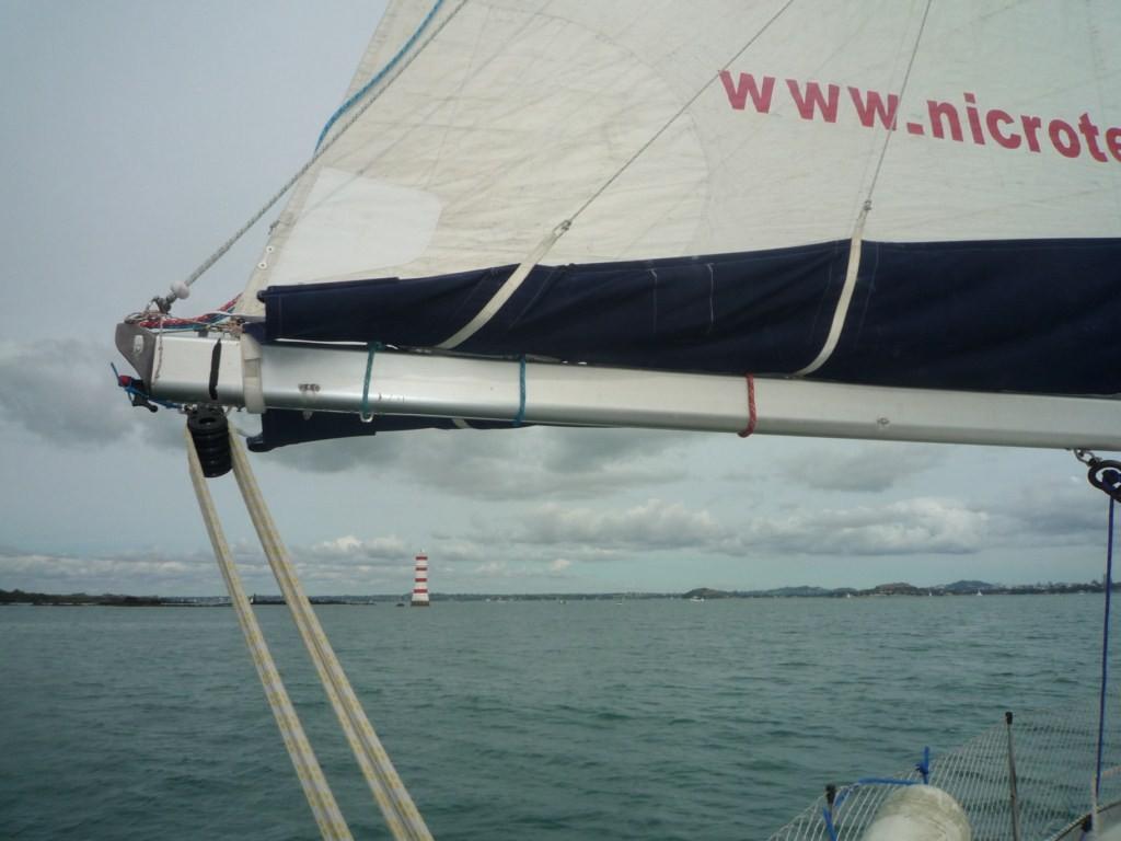 Navegando hacia Auckland
