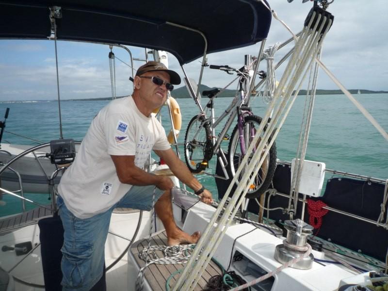 Navegando a Waiheke