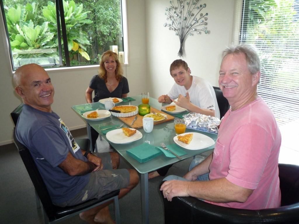 Reecuentro con la familia Andersen, los visitamos en su casa temporal