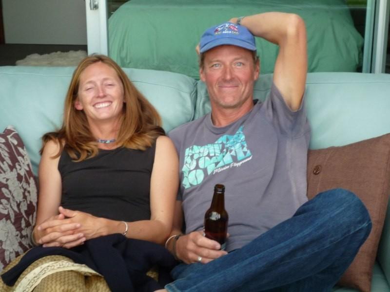Lorance y Mark, del Radiance, partieron desde Alaska
