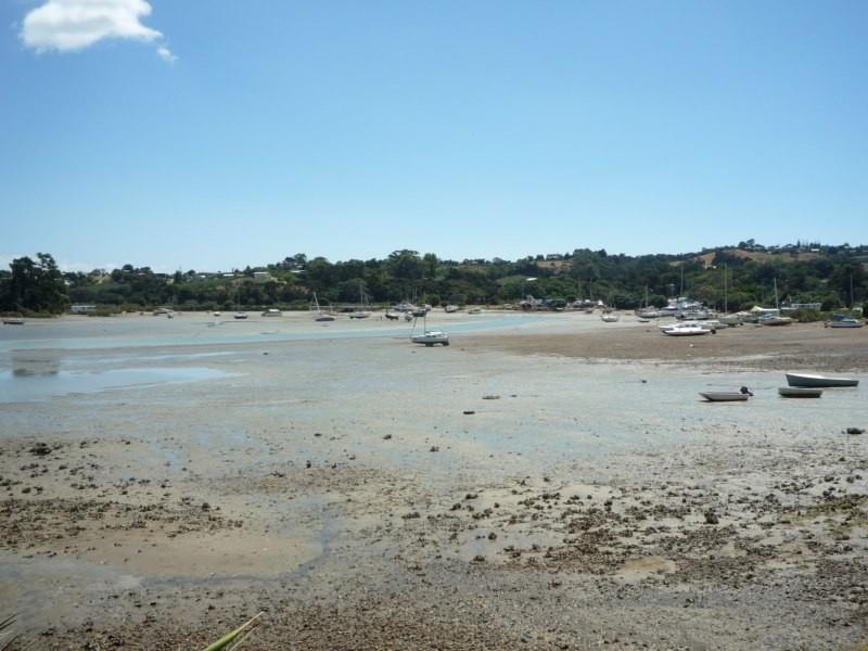 Anzac Bay en marea baja