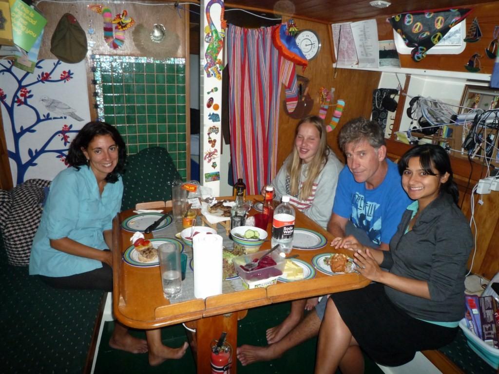 Con nuestros amigos Priscila y Jabco en Whangarei