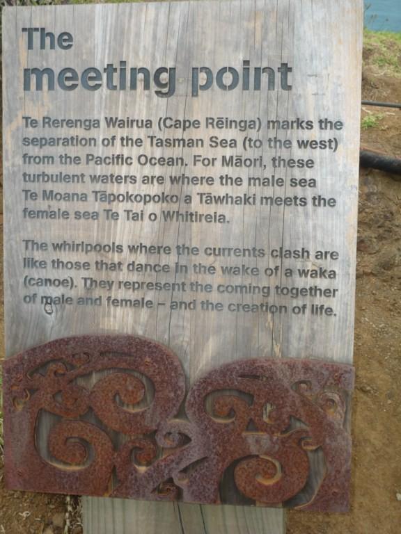 Meeting Point: donde se juntan el Océano Pacífico y el Mar de Tasmania