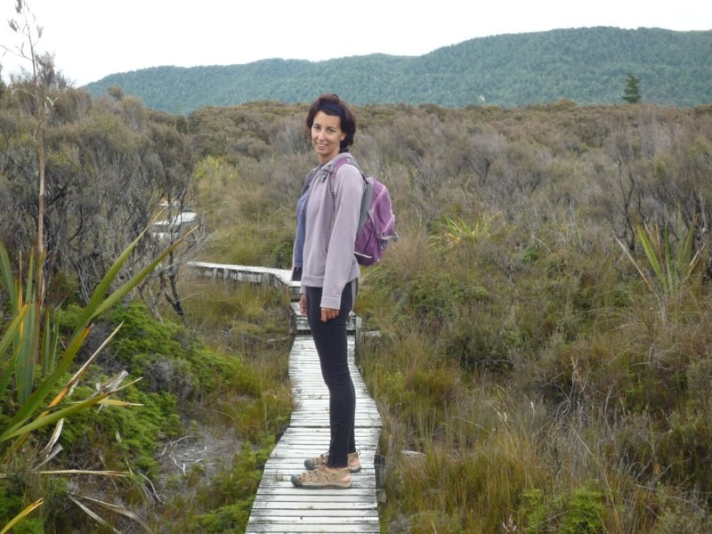 Whakapapaiti track, en Tongariro National Park