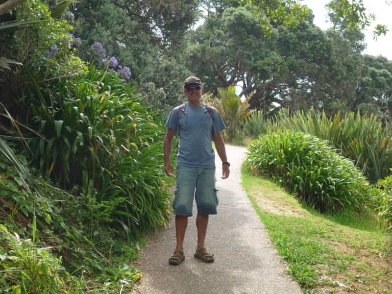 Camino de la playa de Oneroa al pueblo
