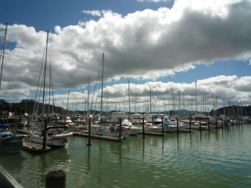La marina Opua