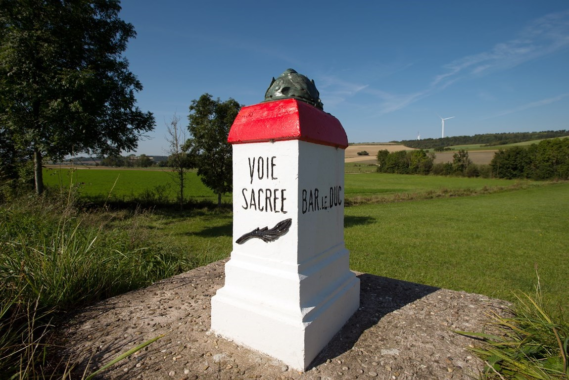 Borne Voie Sacrée. Gîte des Palots-Verdun-Meuse