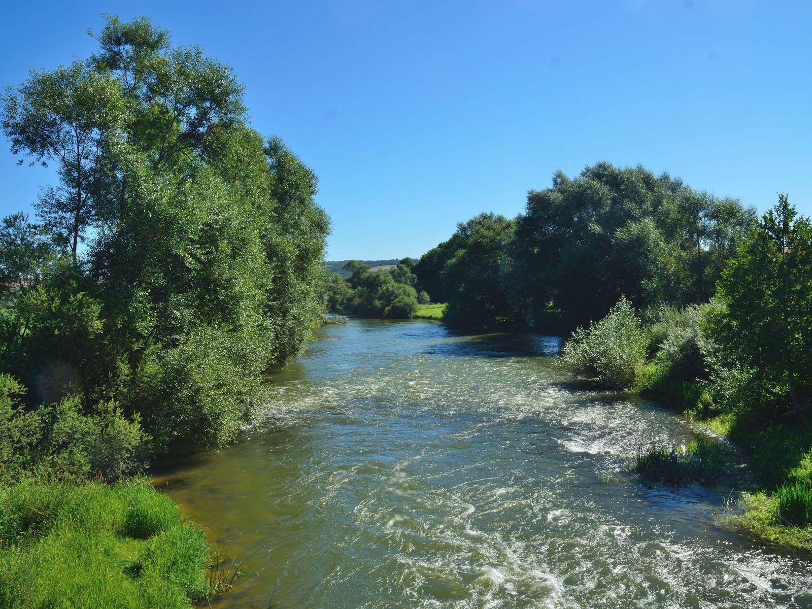 Le fleuve Meuse. Gîte des Palots-Verdun-Meuse