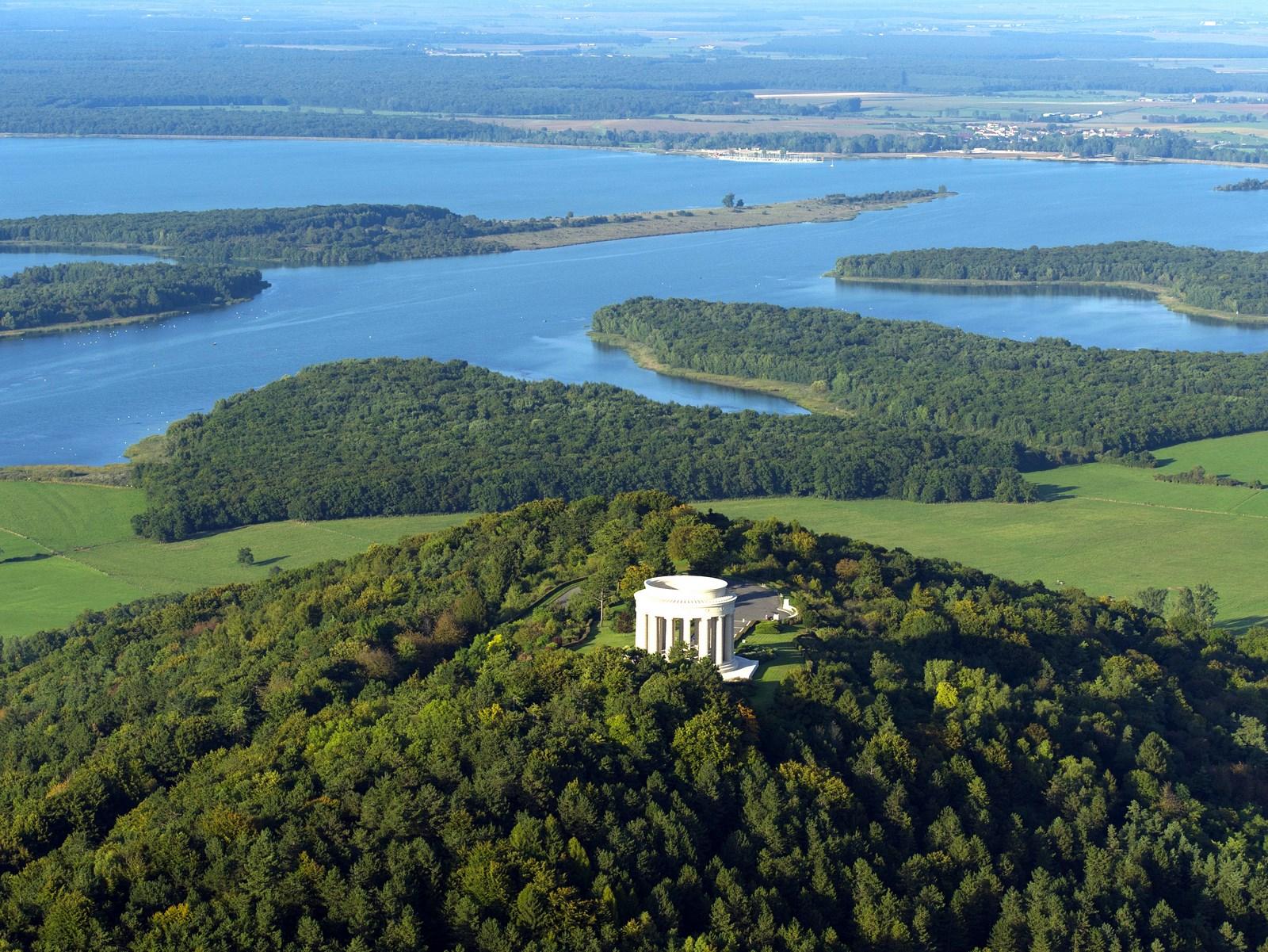 Monument américain de Montsec. Gîte des Palots-Verdun-Meuse