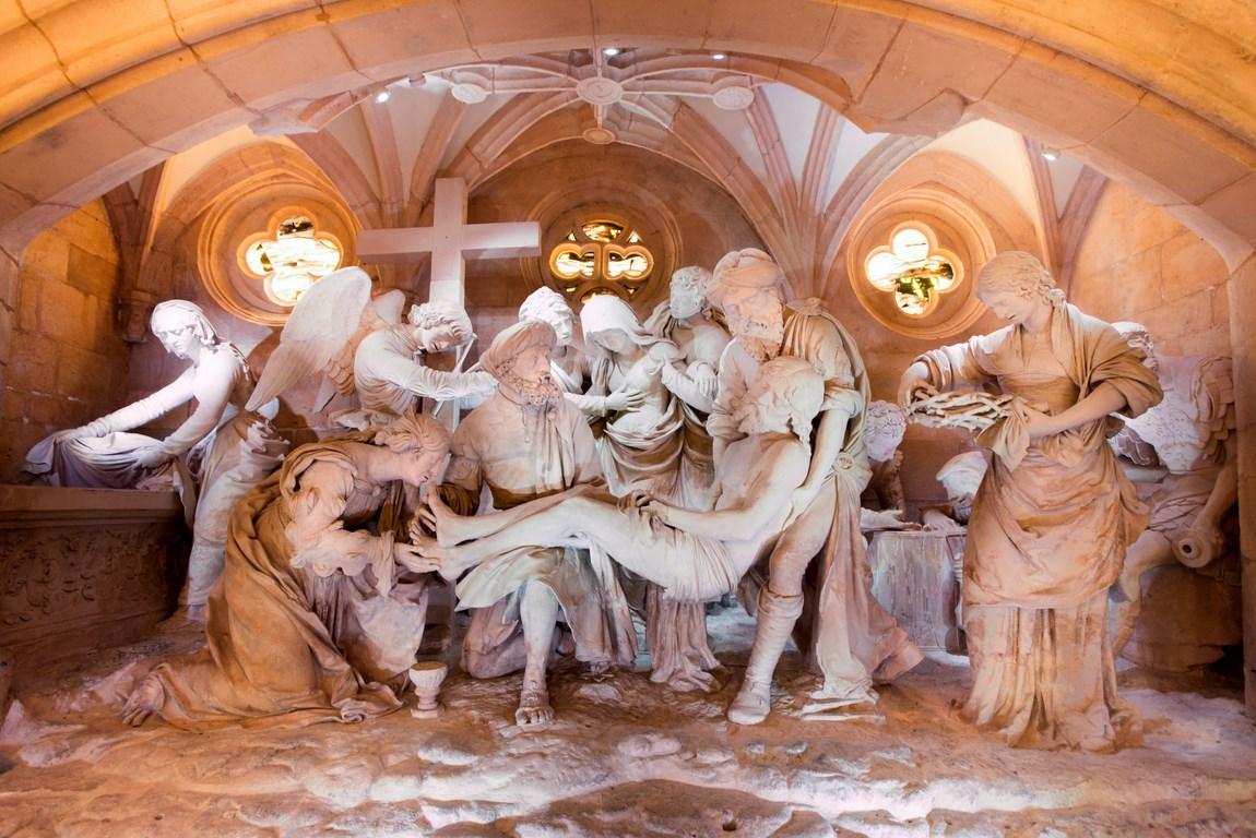 Sculpture Ligier Richier. Gîte des Palots-Verdun-Meuse