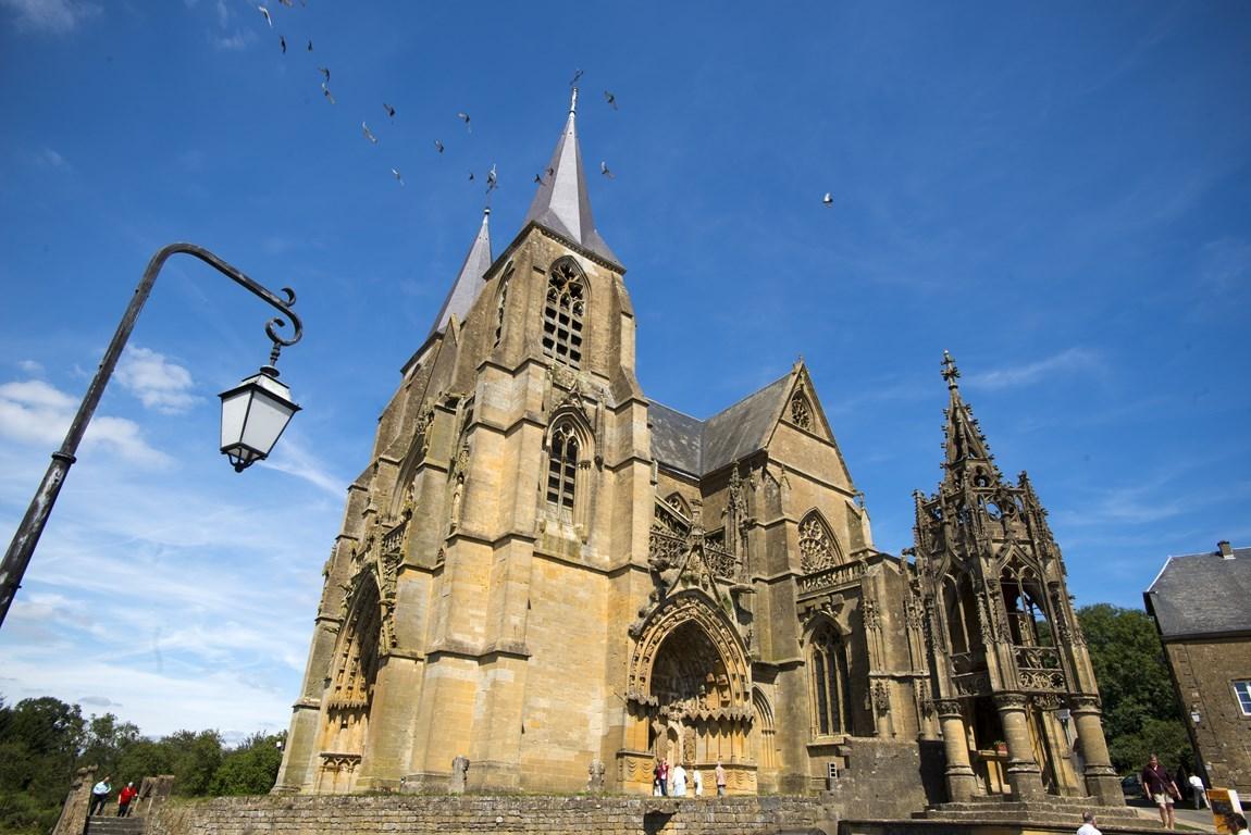 Basilique d'Avioth. Gîte des Palots-Verdun-Meuse