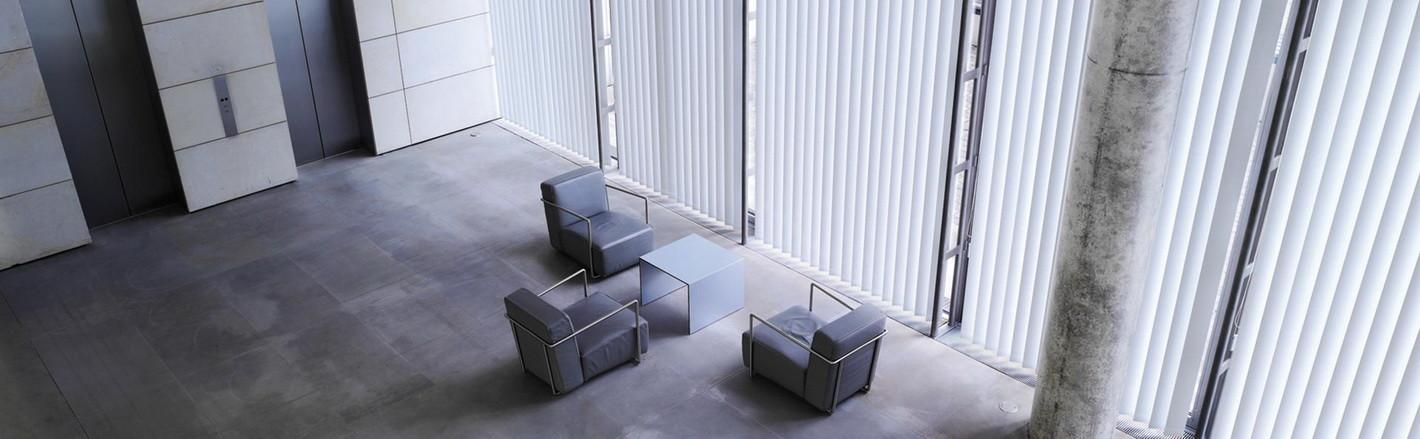 Пластиковые и алюминиевые жалюзи для офисов