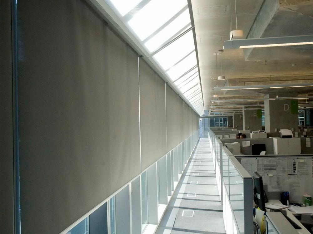 Коммерческие рулонные шторы