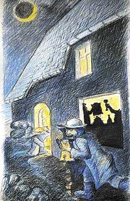 Zeichnung: Lars Hoschkara